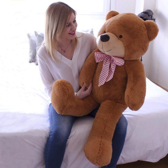 Peluche Urso Gigante com Laço 100/175cm