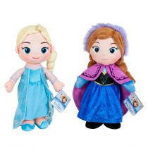 Peluche Elsa e Anna Frozen Disney 30cm